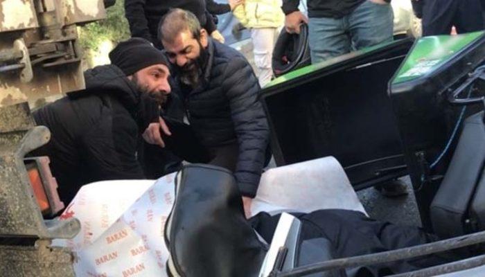 İstanbul'da feci kaza! Ağabeyinin kanlarını avuç avuç taşıdı!