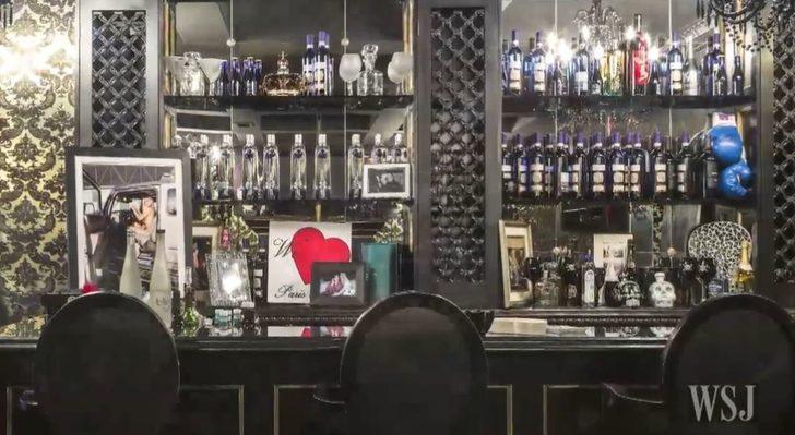 İşte Paris Hilton'un kendine özel yaptırdığı gece kulübü...