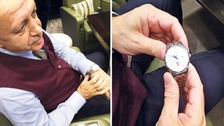 İşte Erdoğan´ın özel kol saati! Eşi benzeri yok