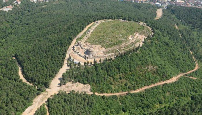 Bizans'tan kalma Aydos Kalesi'nin sırrı gün ışığına çıktı
