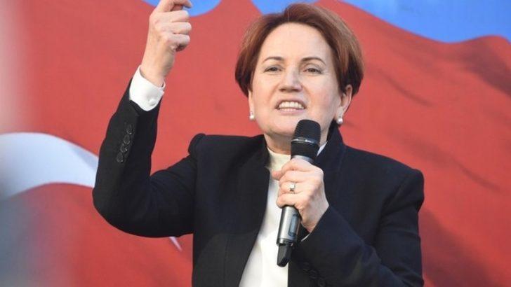 Meral Akşener: Tokat ve Konya'da silahlı eğitim kampları bulunduğunu duyuyoruz