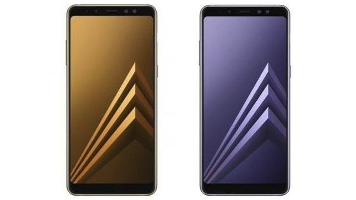 Galaxy A8 2018 satışa hazır