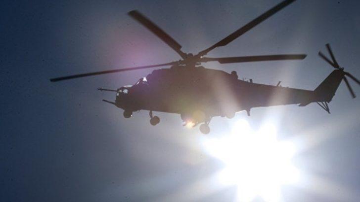 Son dakika! Rus helikopteri Suriye'de düştü! 2 pilot da öldü!