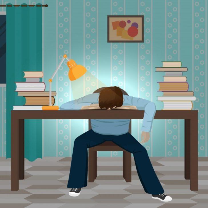 Baş ağrısı, yorgunluk ve genel zayıflık