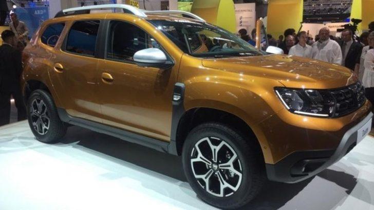 Dacia Duster yenilendi