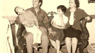 İşte Münir Özkul'un biri ünlü 4 eşiyle hiç bilinmeyen oğlu ve kızları