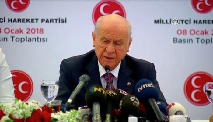 Son dakika! Devlet Bahçeli: MHP cumhurbaşkanı adayı göstermeyecek