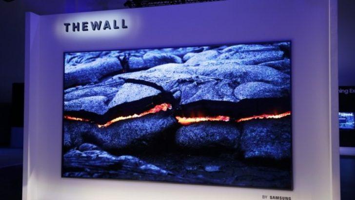 Samsung The Wall : 146 inç MicroLED Duvar Boyu TV