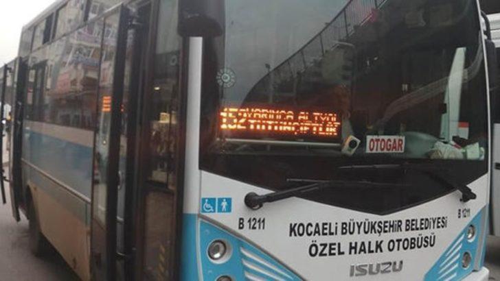 Şaka değil gerçek! Halk otobüsünü çaldı