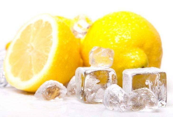 Limonları dondurarak kullanın faydasına şaşıracaksınız!