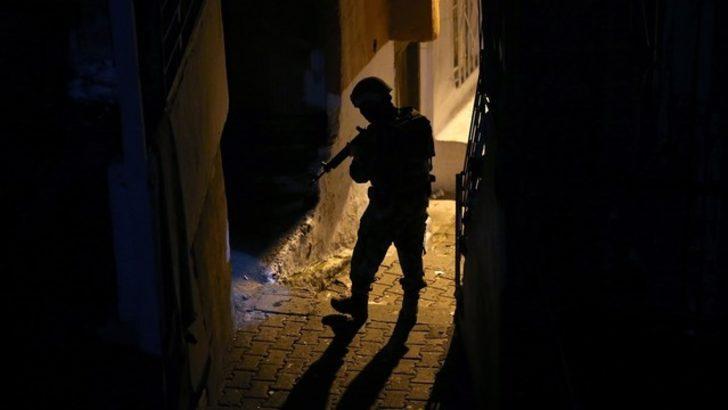 DEAŞ'lı teröriste gece yarısı baskını