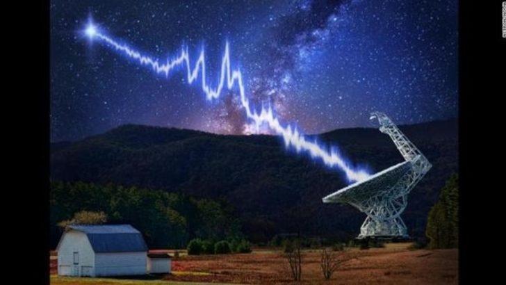 Gizemli radyo ışınları uzaylılardan mı geliyor?