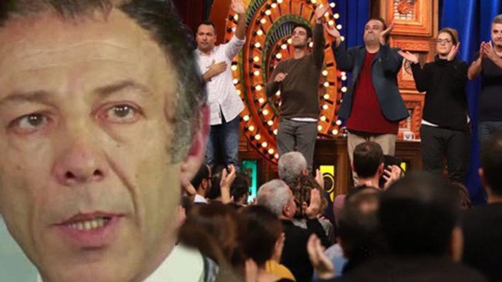 Güldür Güldür Show'da Münir Özkul'a saygı duruşu