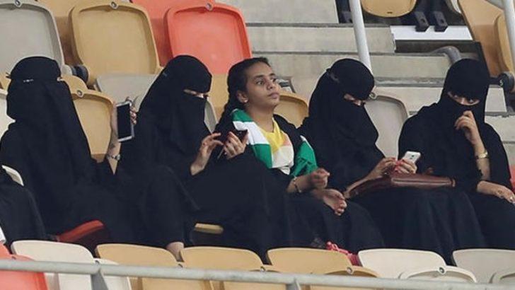 Suudi Arabistan'da tarihi fotoğraf!