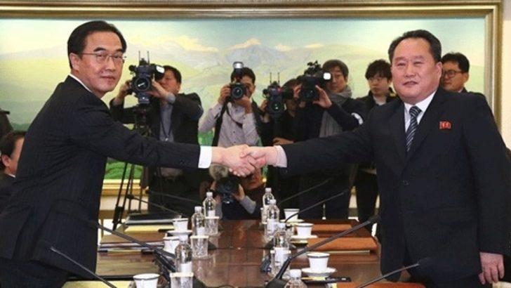 Kuzey Kore ile Güney Kore'den görüşme!