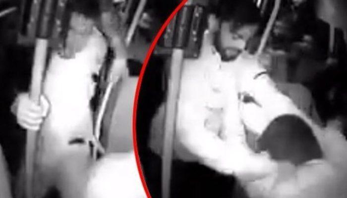 Minibüste akılalmaz olay: 4 kişi engelli gence tekme ve yumruklarla saldırdı