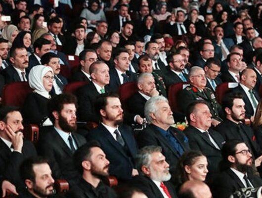 Cumhurbaşkanı Erdoğan, 'Kut'ül Amare' dizisinin tanıtımına katıldı