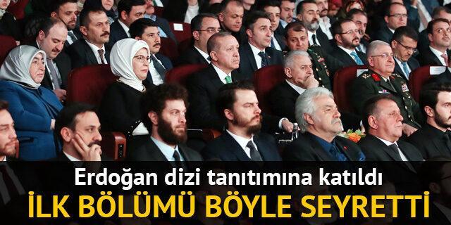 Erdoğan, dizi tanıtımına katıldı