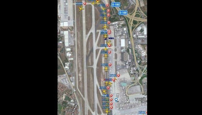 Atatürk Havalimanı'ndan uçacaklar dikkat! Uçak kuyruğu arttı!
