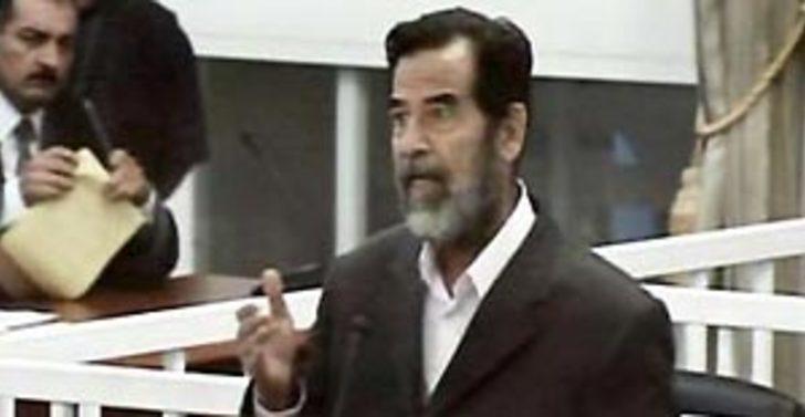 Saddam açlık grevine başlıyor