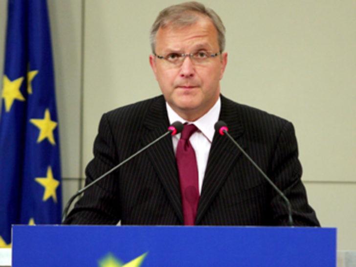 """Rehn'den """"Türk sınırlarına saygıyı sağlayın"""" çağrısı"""