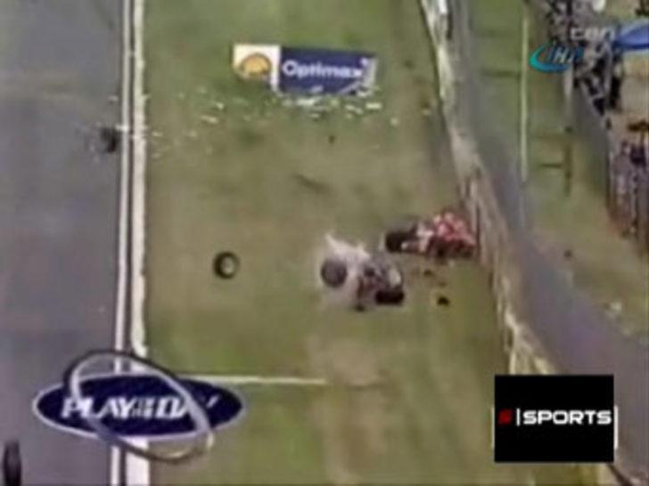 Motor yarışlarında inanılmaz kazalar
