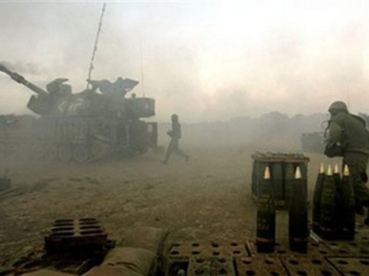 İsrail, Hamas hedeflerini bombaladı