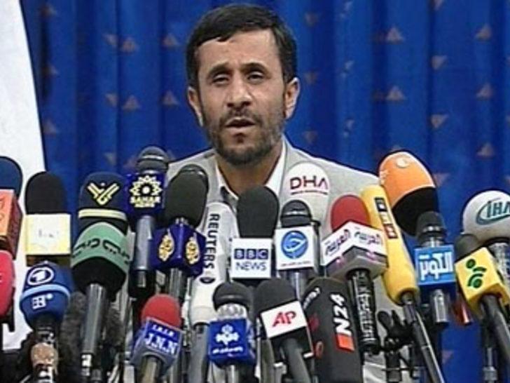 İran Cumhurbaşkanı Ahmedinejad, Bağdat'ta