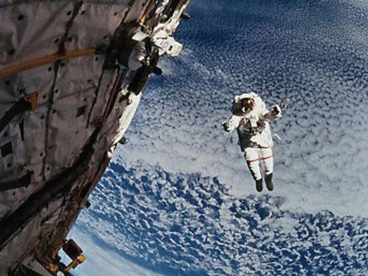 """Astronotların kurtarılması anlaşmasına """"evet"""""""