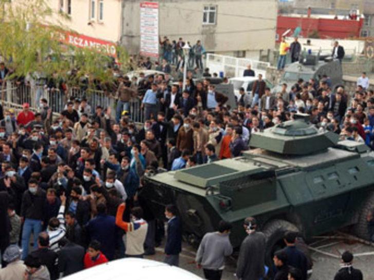 Şırnak'taki linç girişimi:1 ölü
