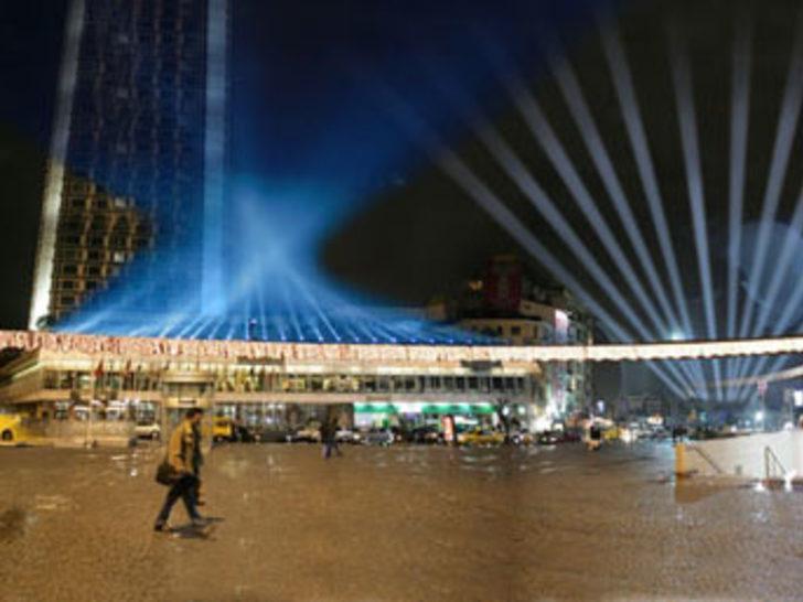 Yeni yıl Taksim'de karşılanacak
