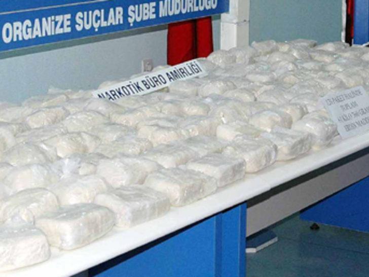 1.5 ton uyuşturucu ele geçirildi