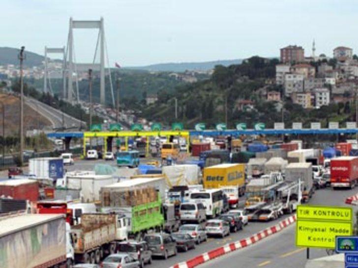 Köprü ve otoyoldan 37 milyon YTL