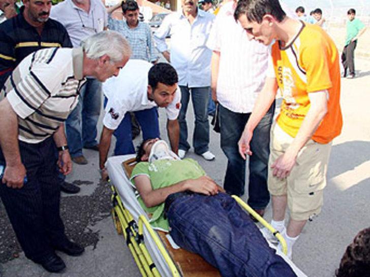Bursa'da amatör maç sonrasında olaylar çıktı