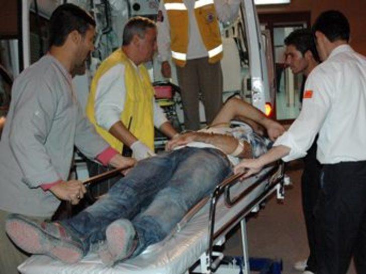 DTP - MHP kavgası: 1 yaralı