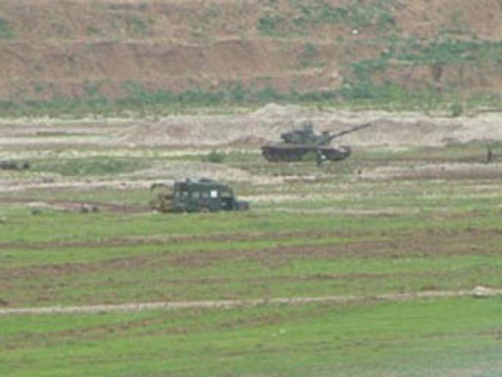Gabar ve Küpeli'de askeri hareketlilik