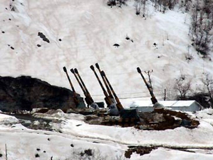 Toplar Hakurk'a çevrildi, uçaklar keşifte