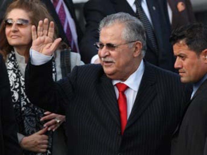 Talabani Ankara'da