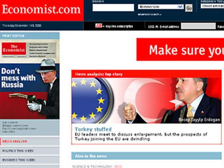 Economist Türkiye'ye 4 ayrı makalede yer verdi