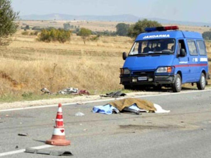 Keşan'da trafik kazası: 4 ölü