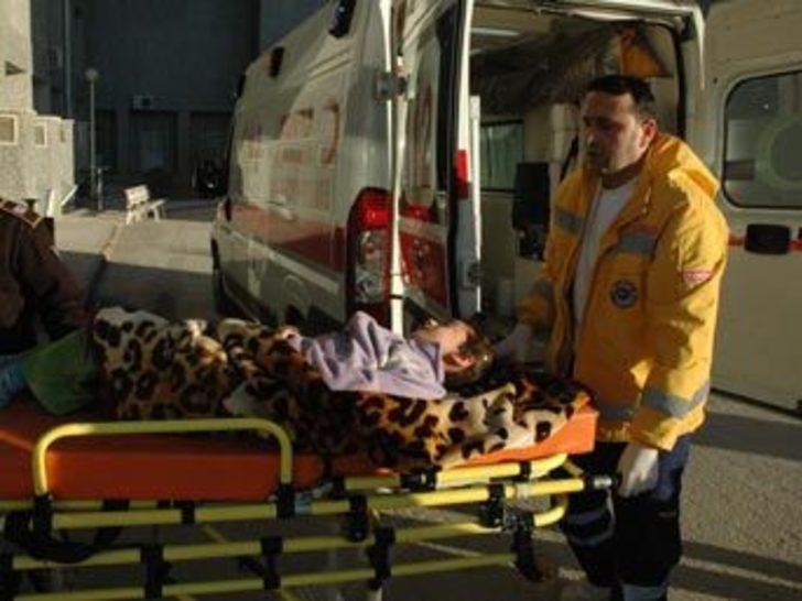 Konya'da 5 kişilik aile soba gazından zehirlendi