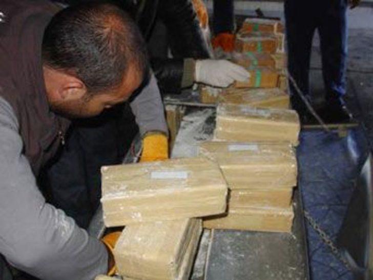 Ağrı'da 255 kilogram eroin ele geçirildi