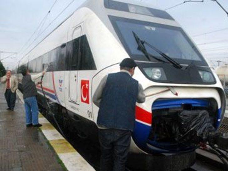 Türkiye'nin ilk hızlı treni Kapıkule'den girdi