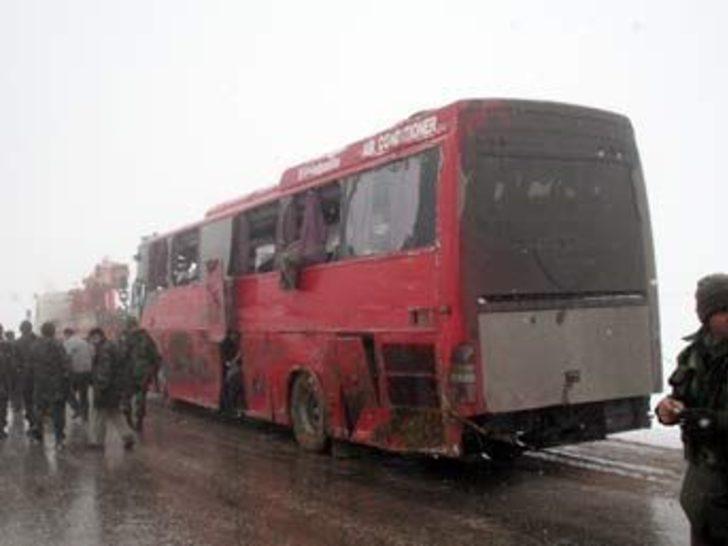 İran otobüsü askeri araca çarptı: 16 yaralı