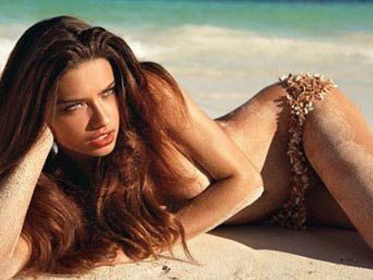 En kusursuz Adriana Lima!