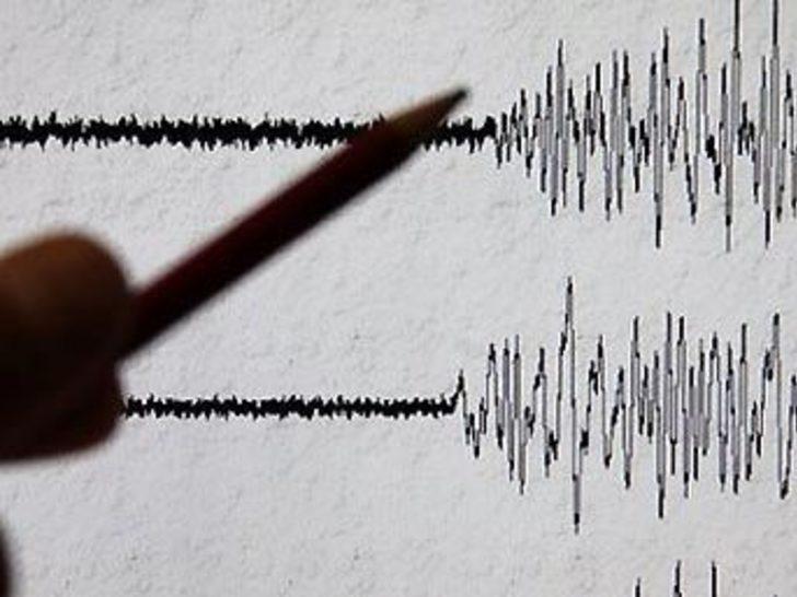"""Akdeniz'de """"şiddetli"""" deprem"""
