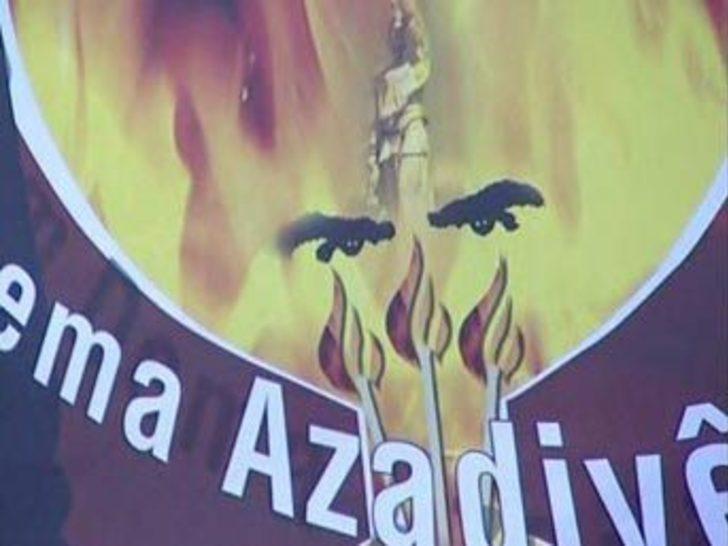 Öcalan'ın gözlerinin olduğu afişler toplatıldı