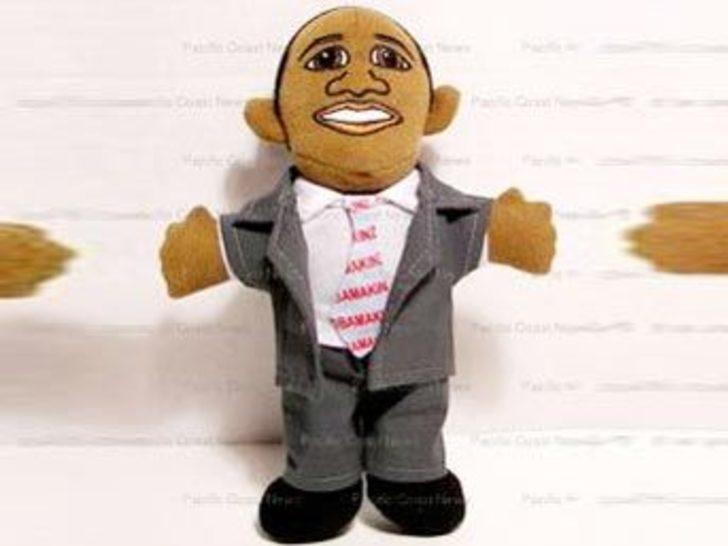Obama bebeği kapış kapış