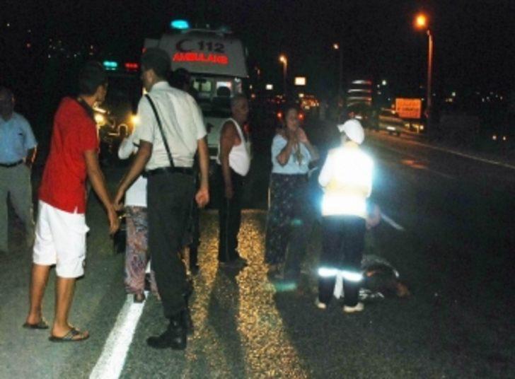 Altınoluk'ta trafik kazası: 1 ölü