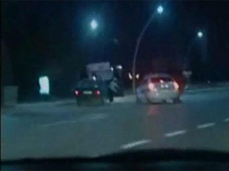 Ankara'da hırsız polis kovalamacası